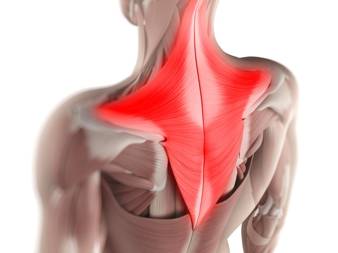 Applying a cold compress to the area of the back may help reduce pain.