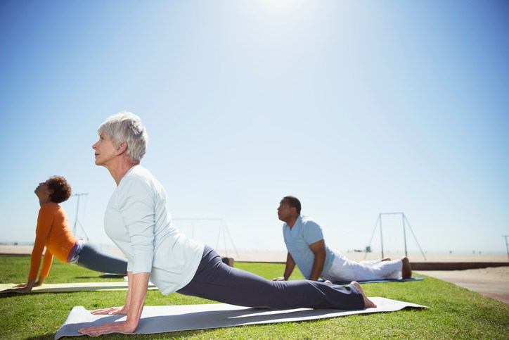 To ensure patients received standardized treatment, yoga instructors and physical therapists underwent training and followed instructions from the same manual for their respective sessions.