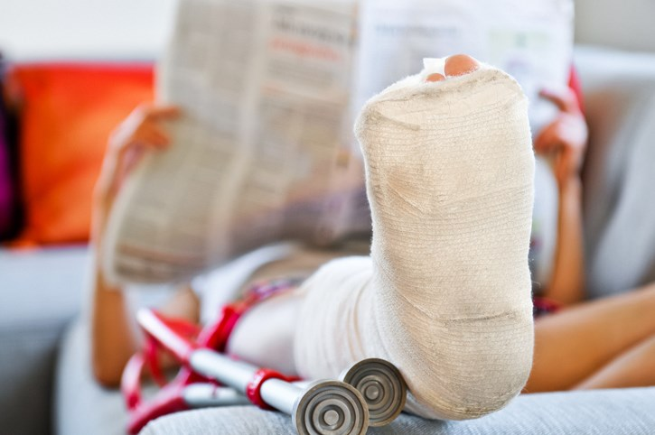 Psychological Factors, Not Opioid Intake, Associated With Disability After Fracture Surgery