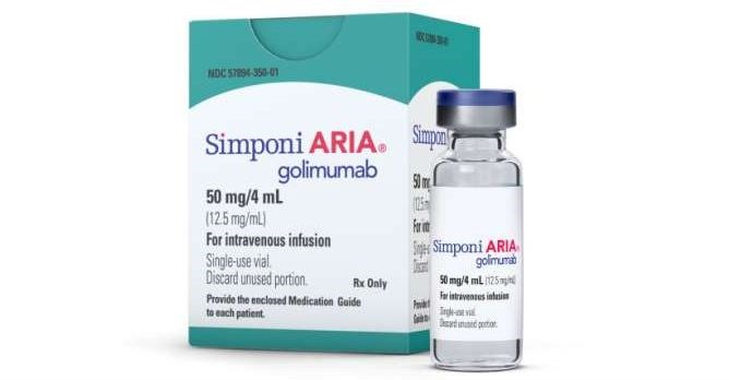 FDA Approves Simponi Aria For Active Ankylosing Spondylitis, Psoriatic Arthritis
